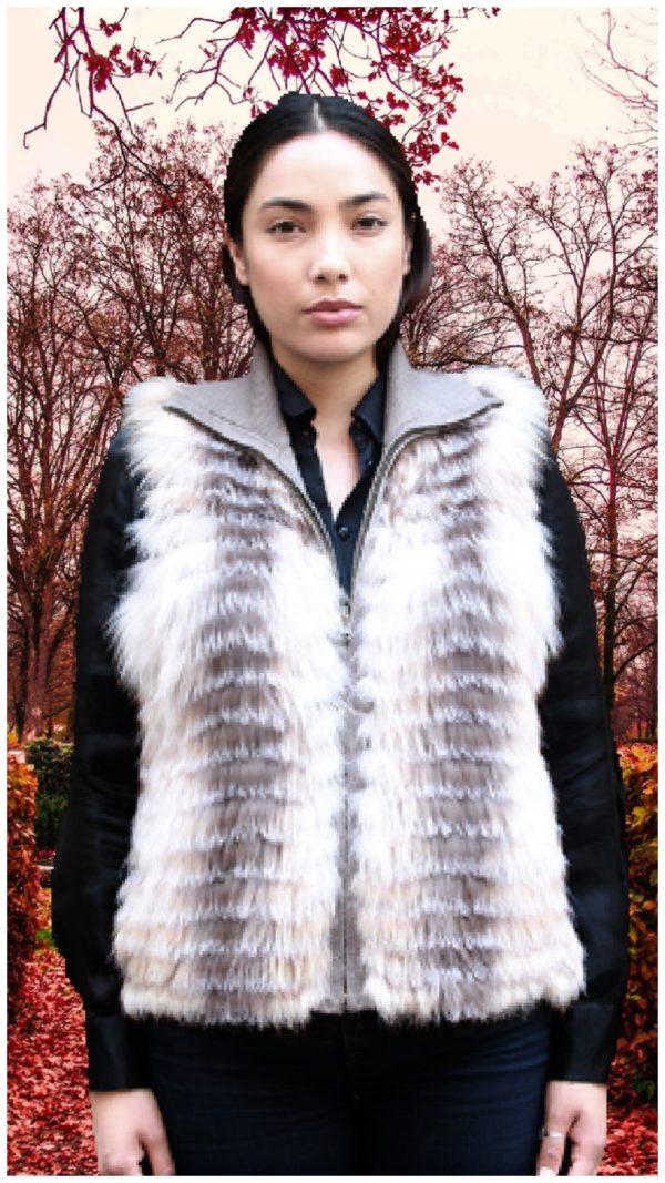 sterling fox vest knit