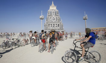 Burning Man Marc Kaufman Furs