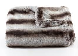 Fur Blankets From Fur Skins
