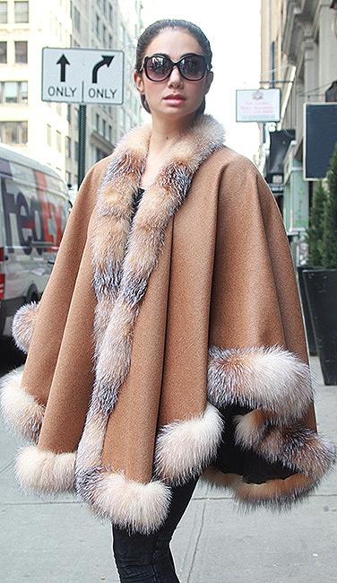 plus size fur coats