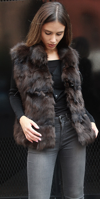 Beautiful Russian Sable Vest