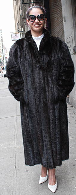 Used Ranch MInk Coat Size 8-10