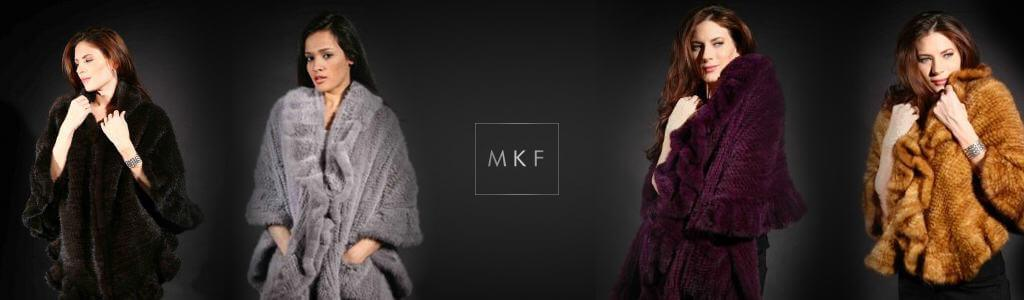 knit mink stoles