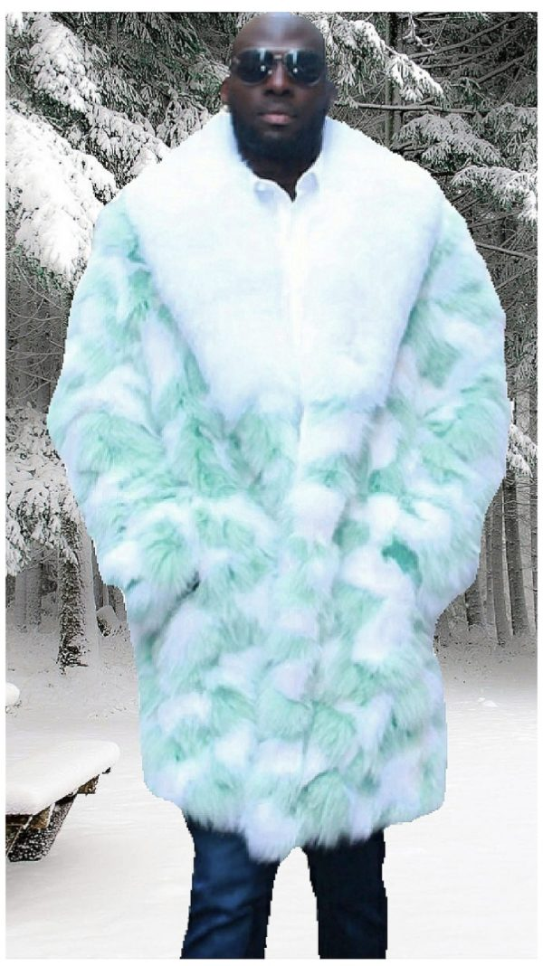 Men's Fox fur coats