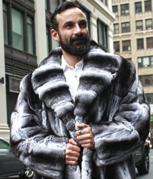Men Fur Coat