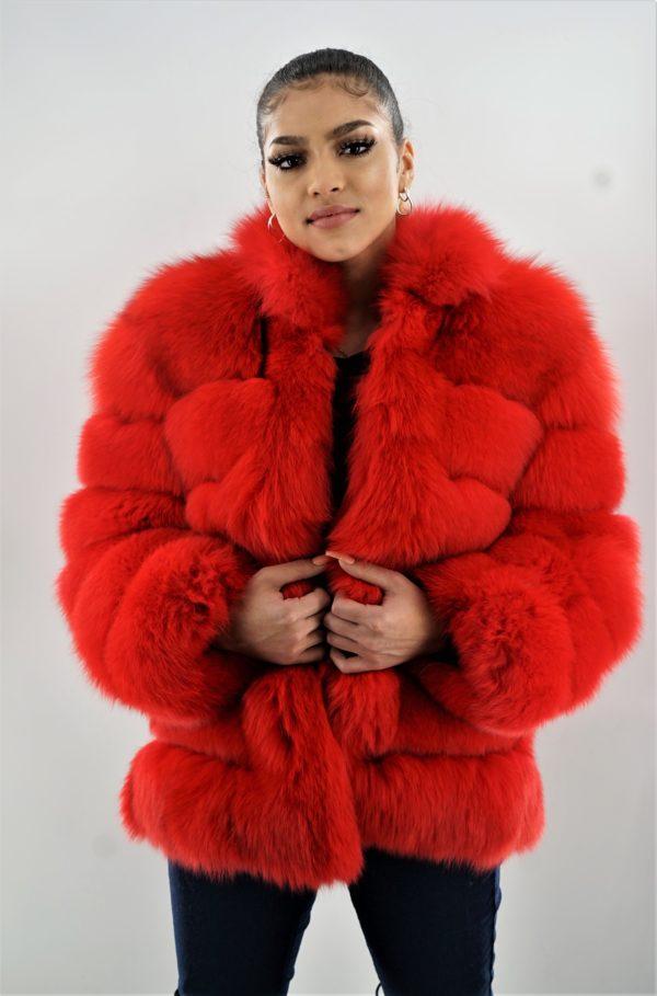 Red Fox Horizontal Jacket