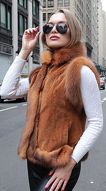 woman sable fur coats