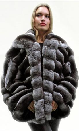 Chinchilla Fur Jacket