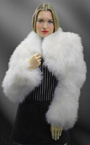 White Fox Fur Jacket