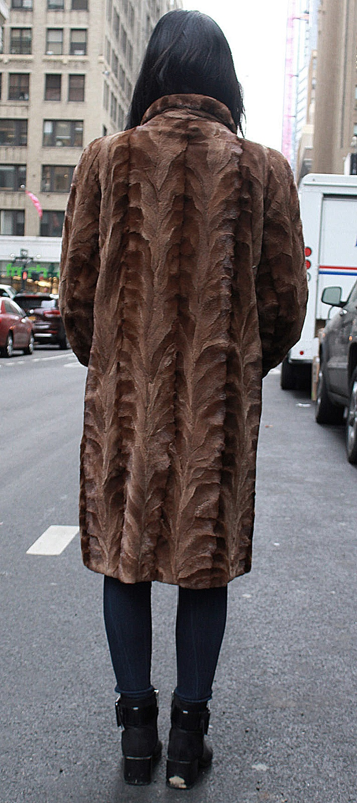 fox fur coats