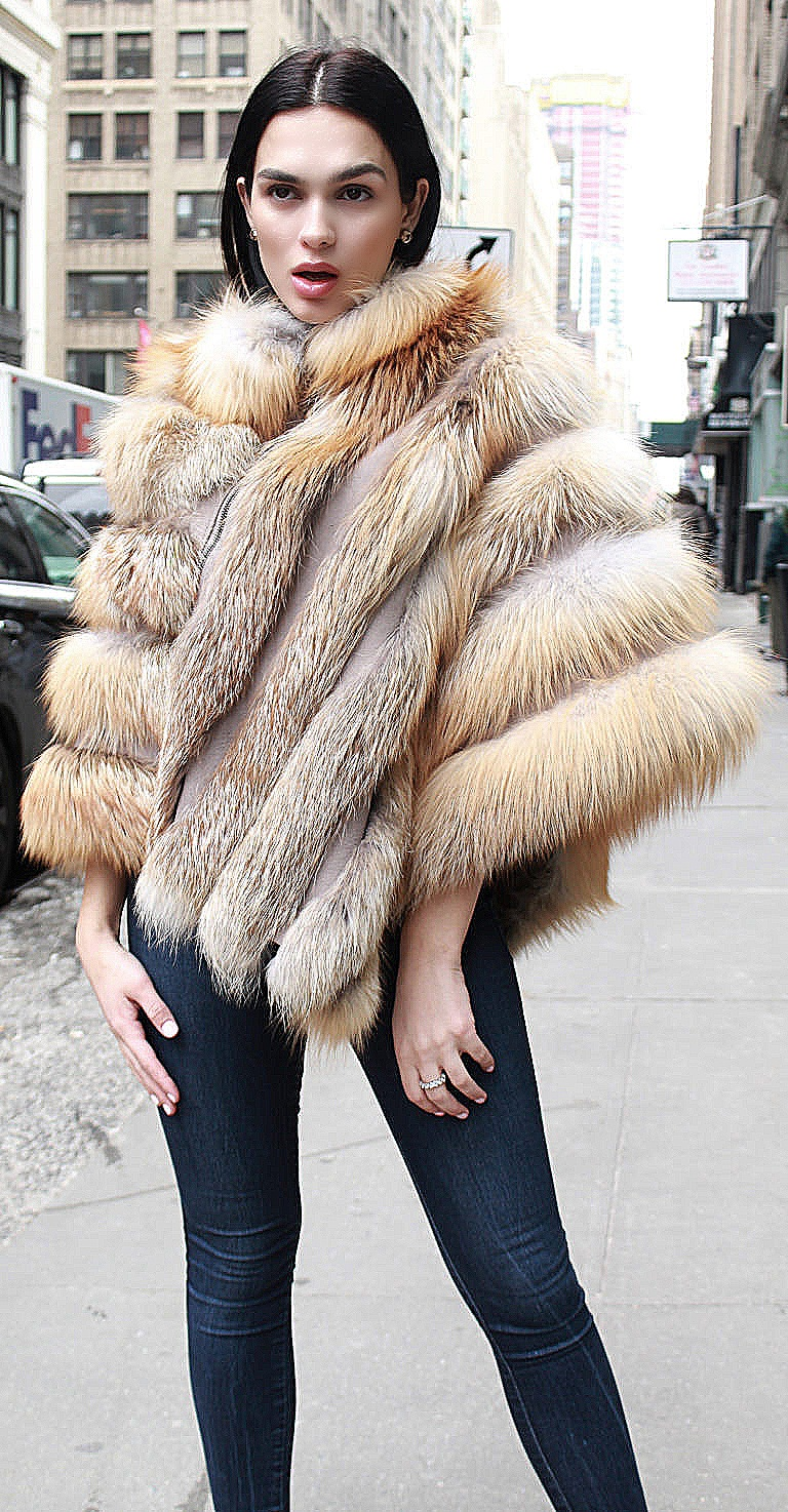 woman fur coats