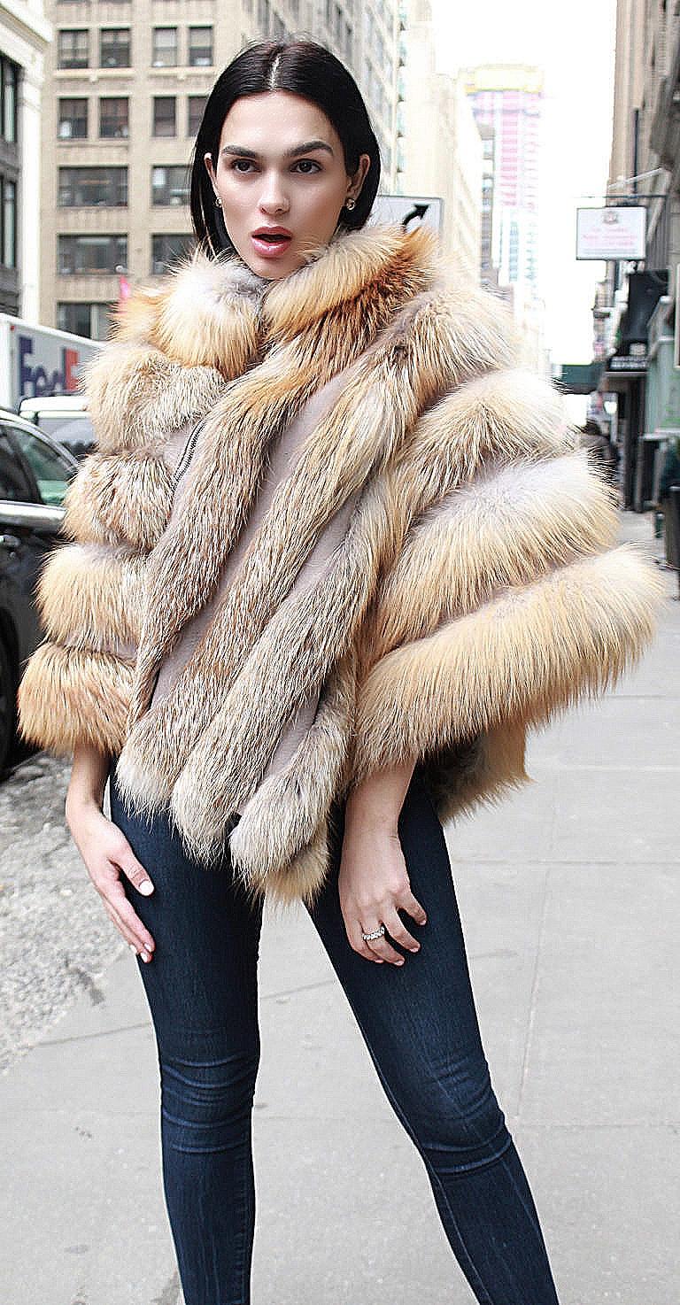woman fur coats