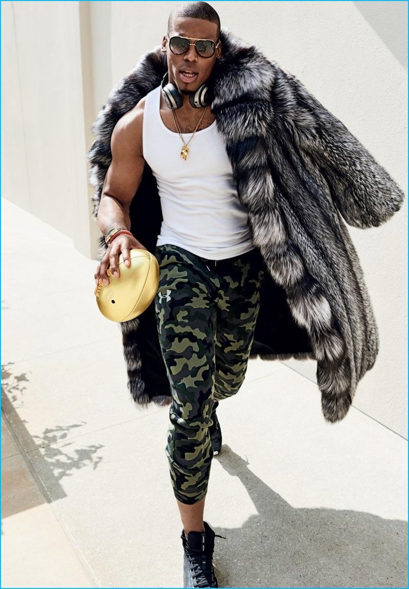Cam Newton Marc Kaufman Furs Celebrity Furrier