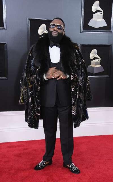 Rick Ross Marc Kaufman Furs Celebrity Furrier