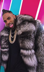 Jason Derulo Marc Kaufman Furs Celebrity Furrier