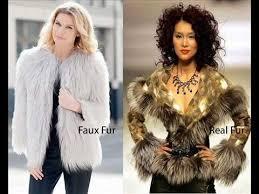 Real Fur vs Faux Fur