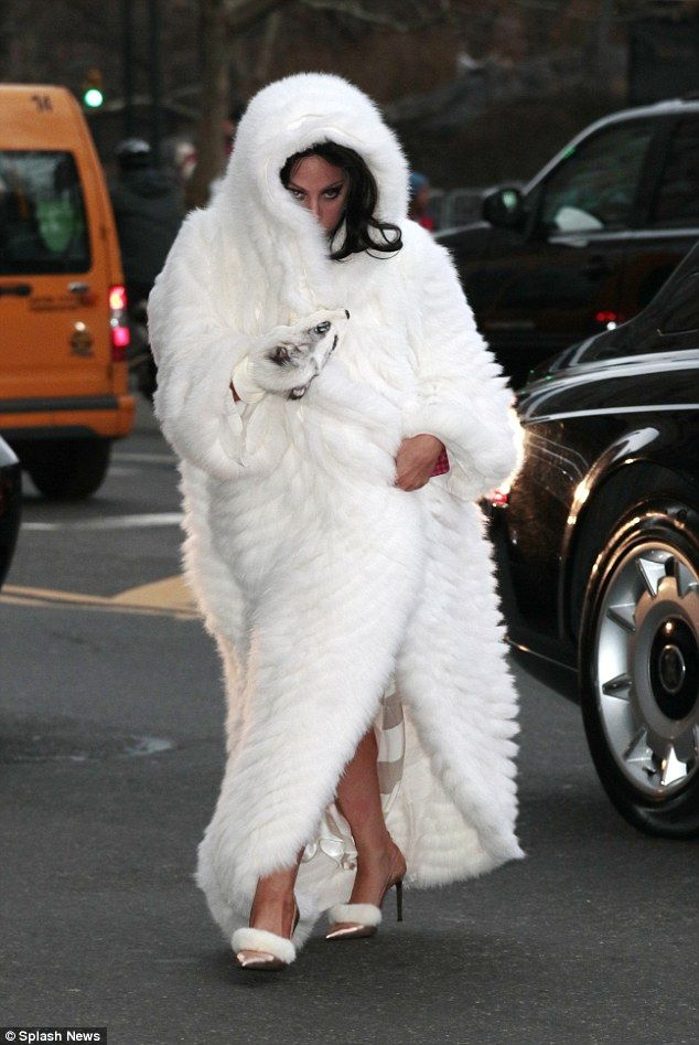 Lady Gaga Reigning Fur Queen