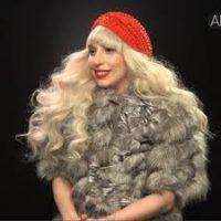 Lady Gaga Reigning Fur Queen