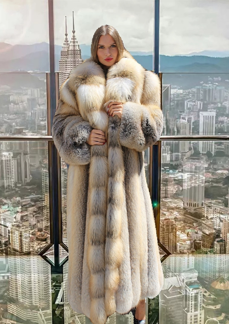 Where did JLo buy her fur coat Hustler Movie?