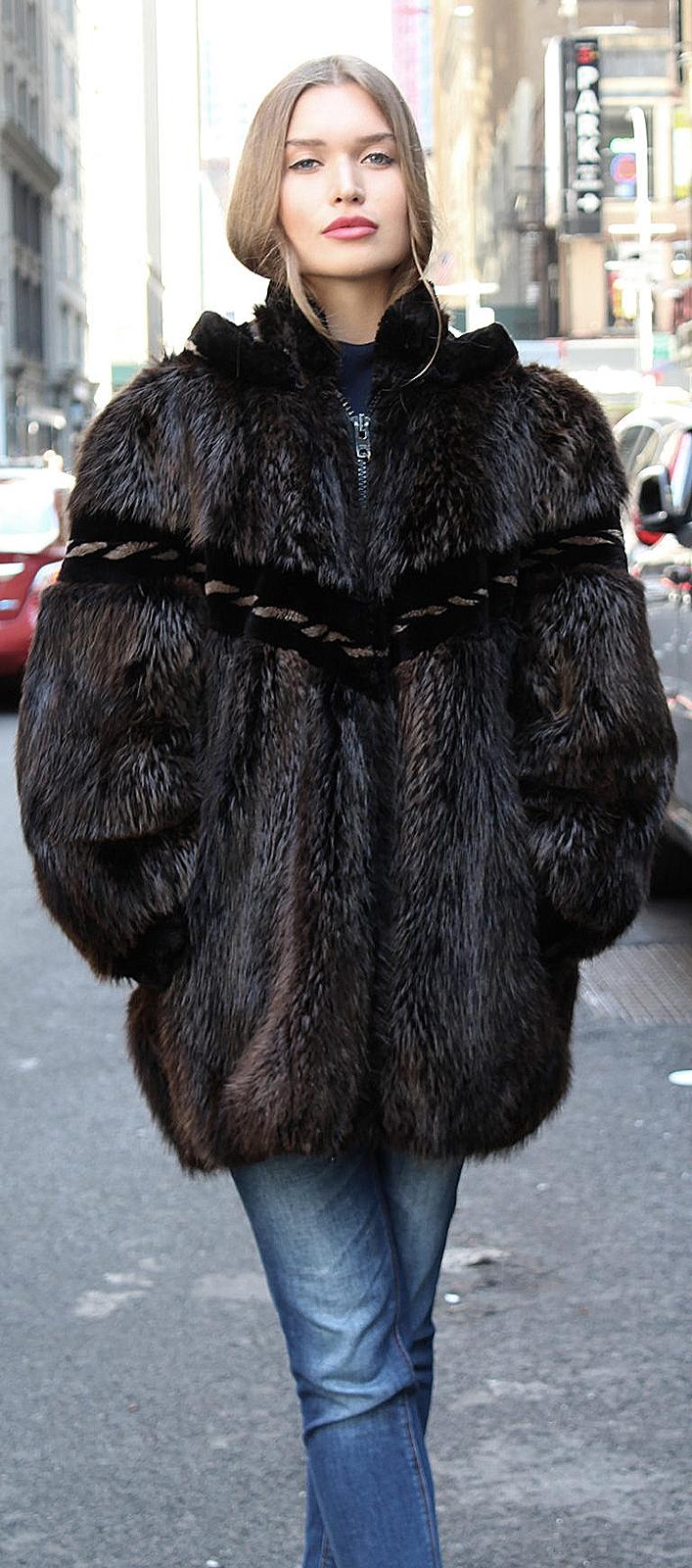 furs bomber jackets