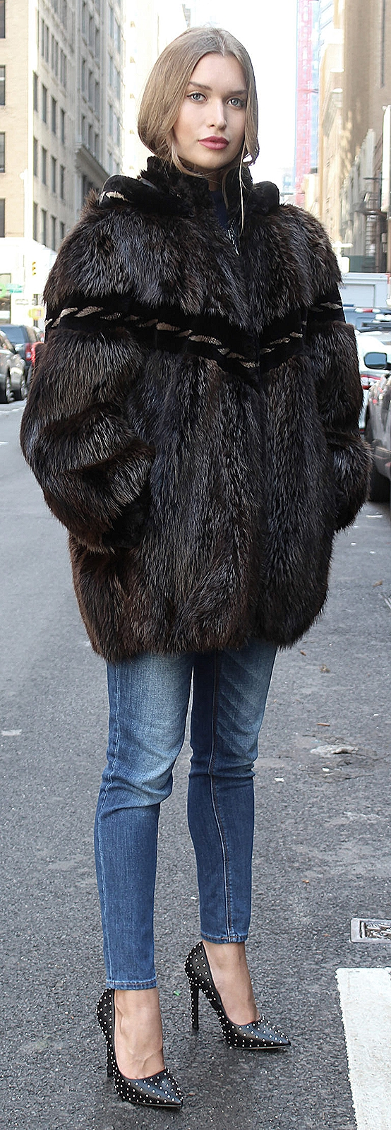 woman fur jackets