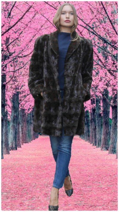 sheared fur coats
