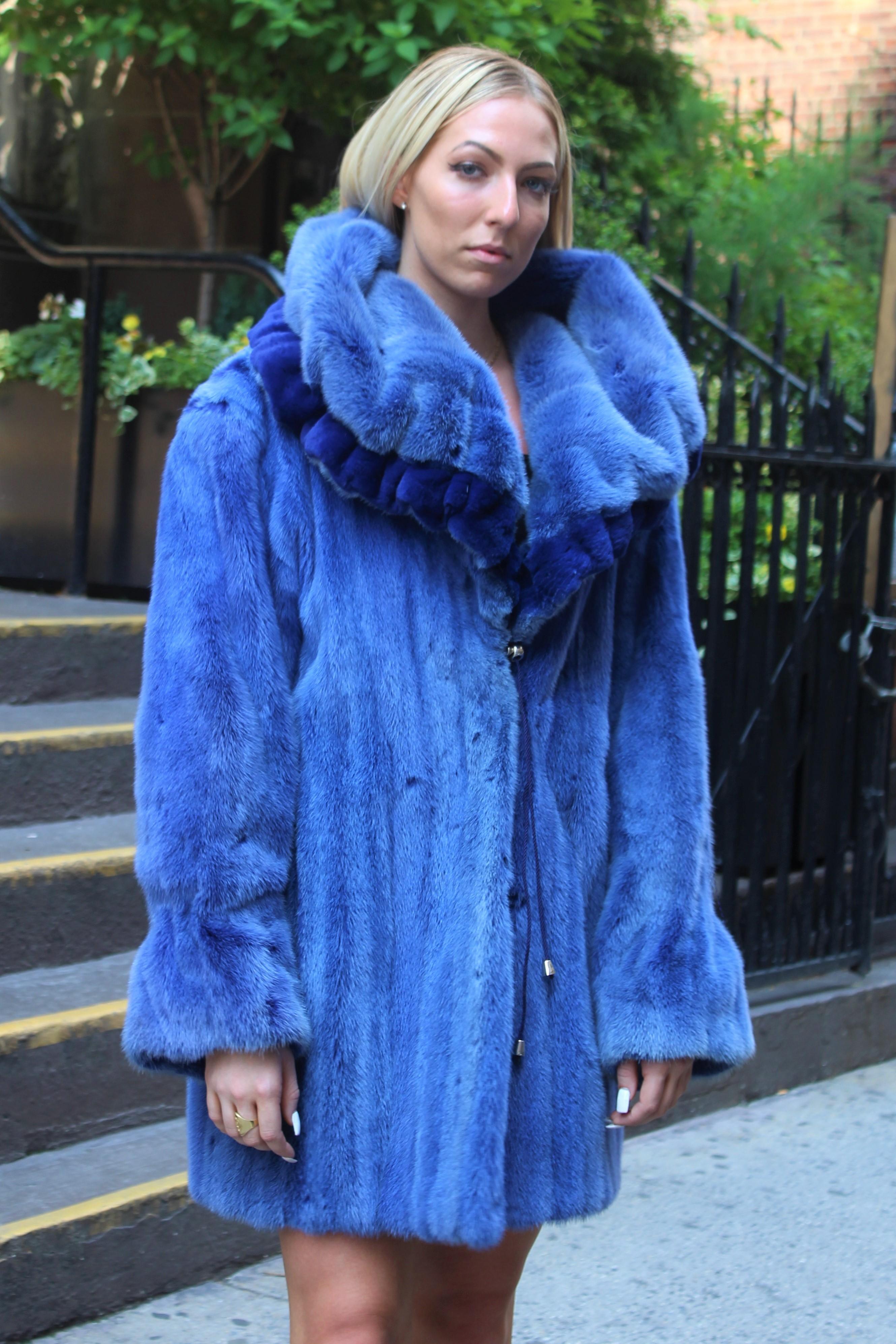 Blue Mink Stroller