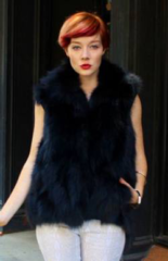 What to Wear with a Fur Vest? 10 Fur Vest Ideas