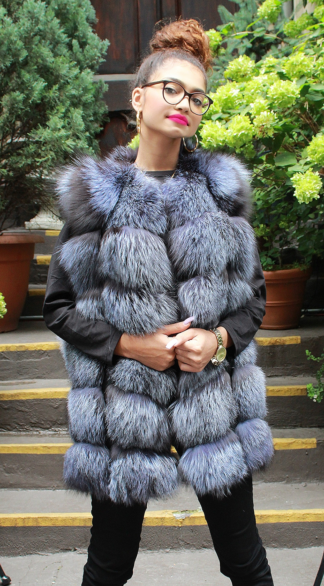 Canadian Silver Fox Vest