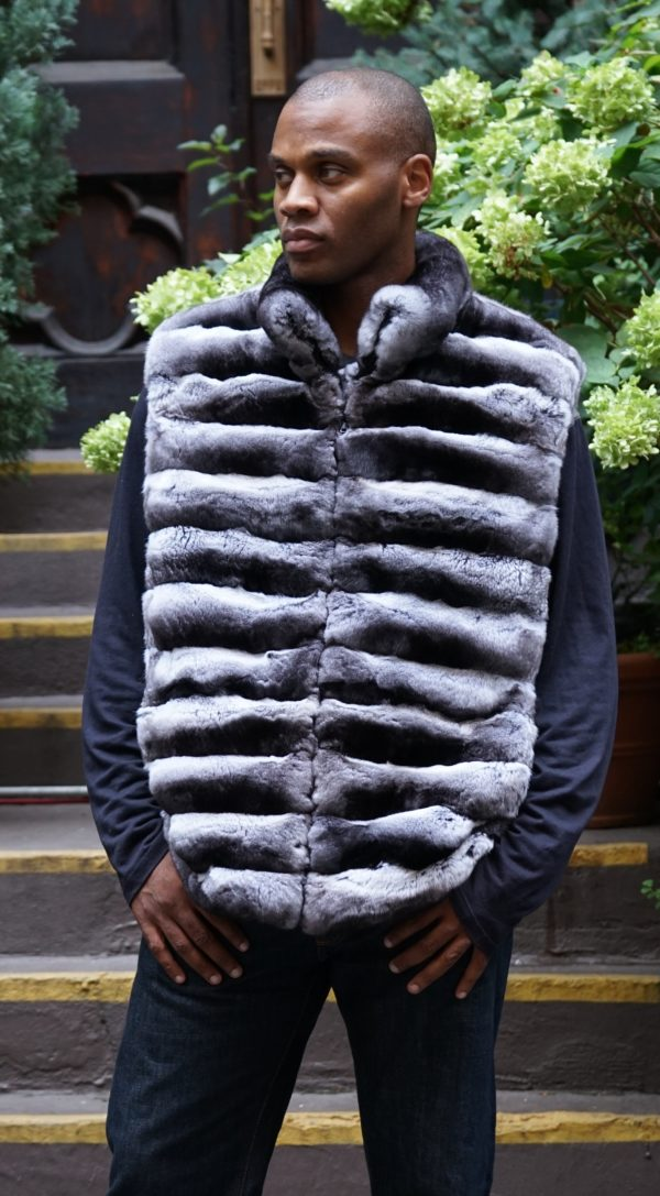 Men's Chinchilla Vest