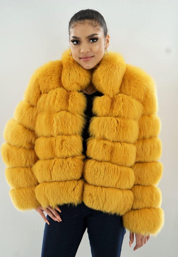 Yellow Fox Jacket