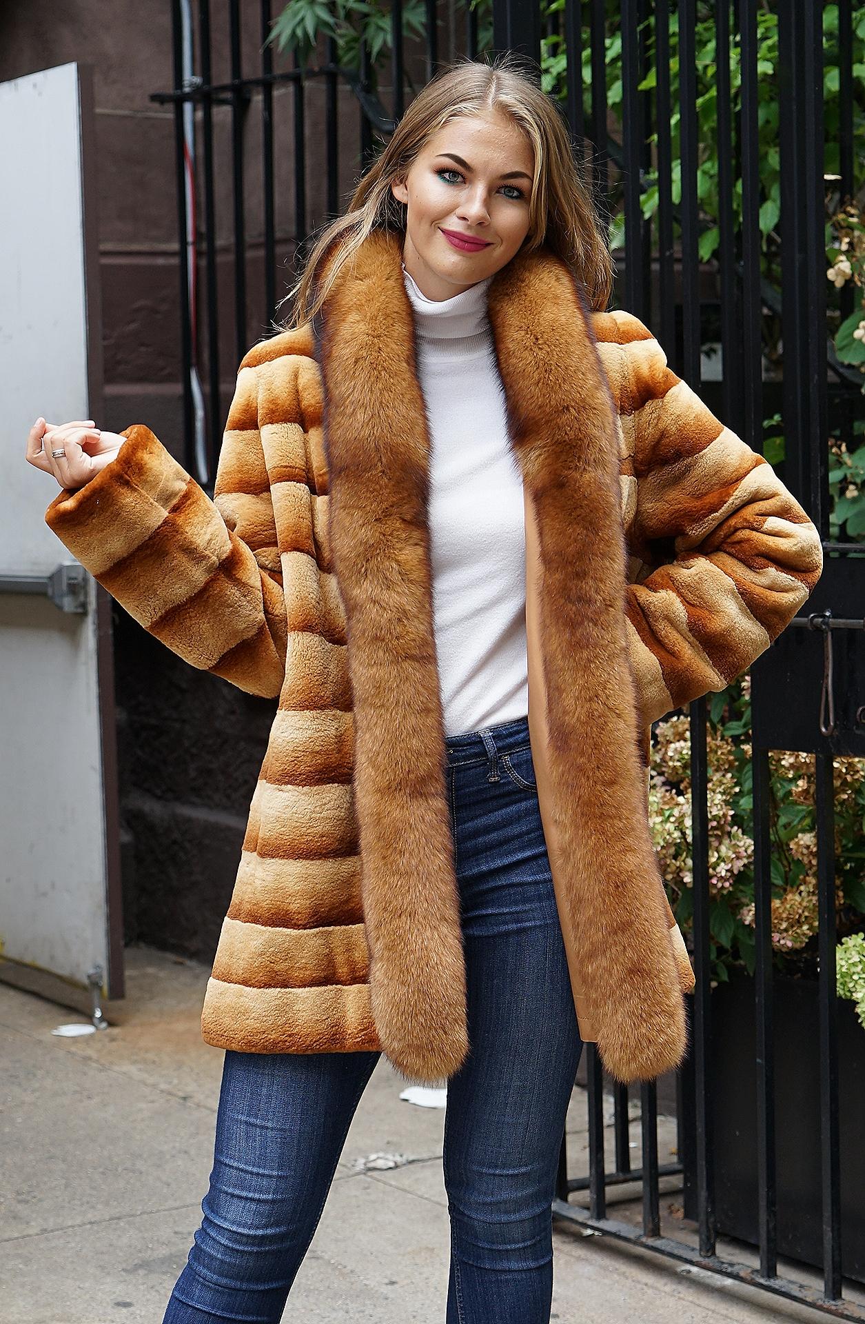 whiskey sheared mink furs