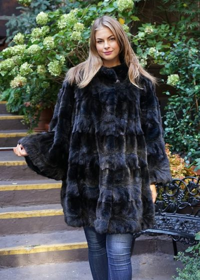 Sable fur coats