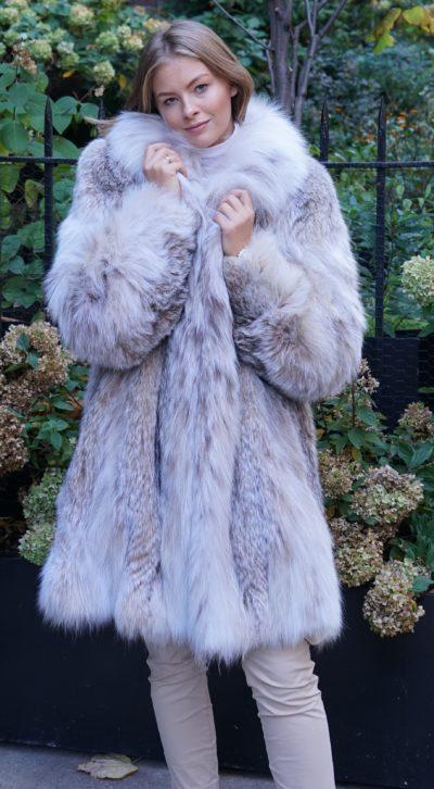 Magnificent Canadian Lynx Coat