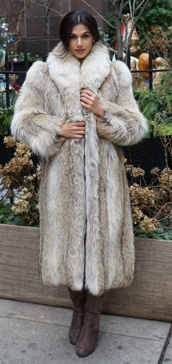 Full Length Coyote Coat