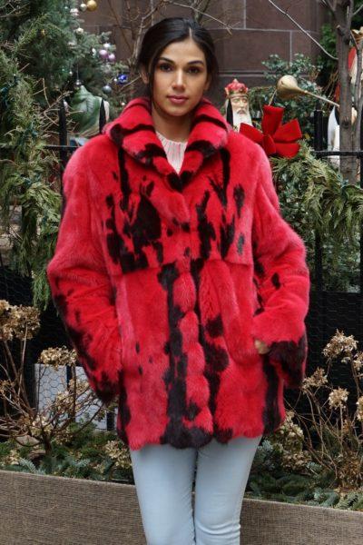 Red Pony Mink Jacket