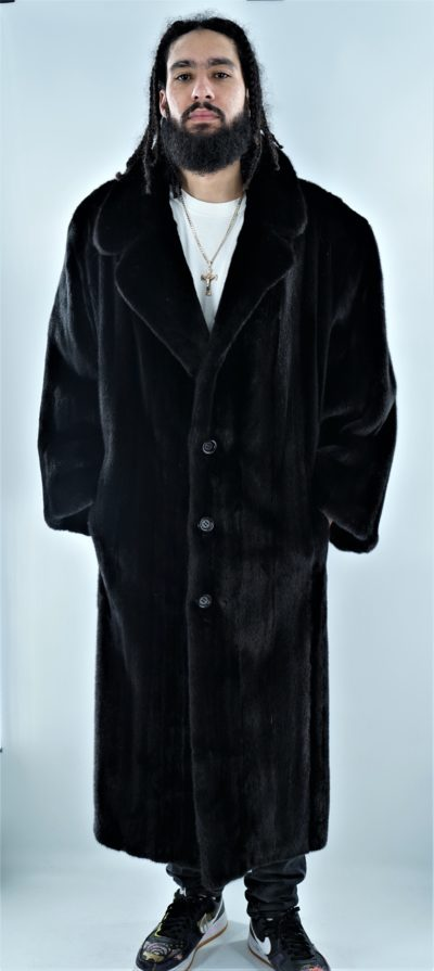 Blackglama Men's Full Length Mink Coat