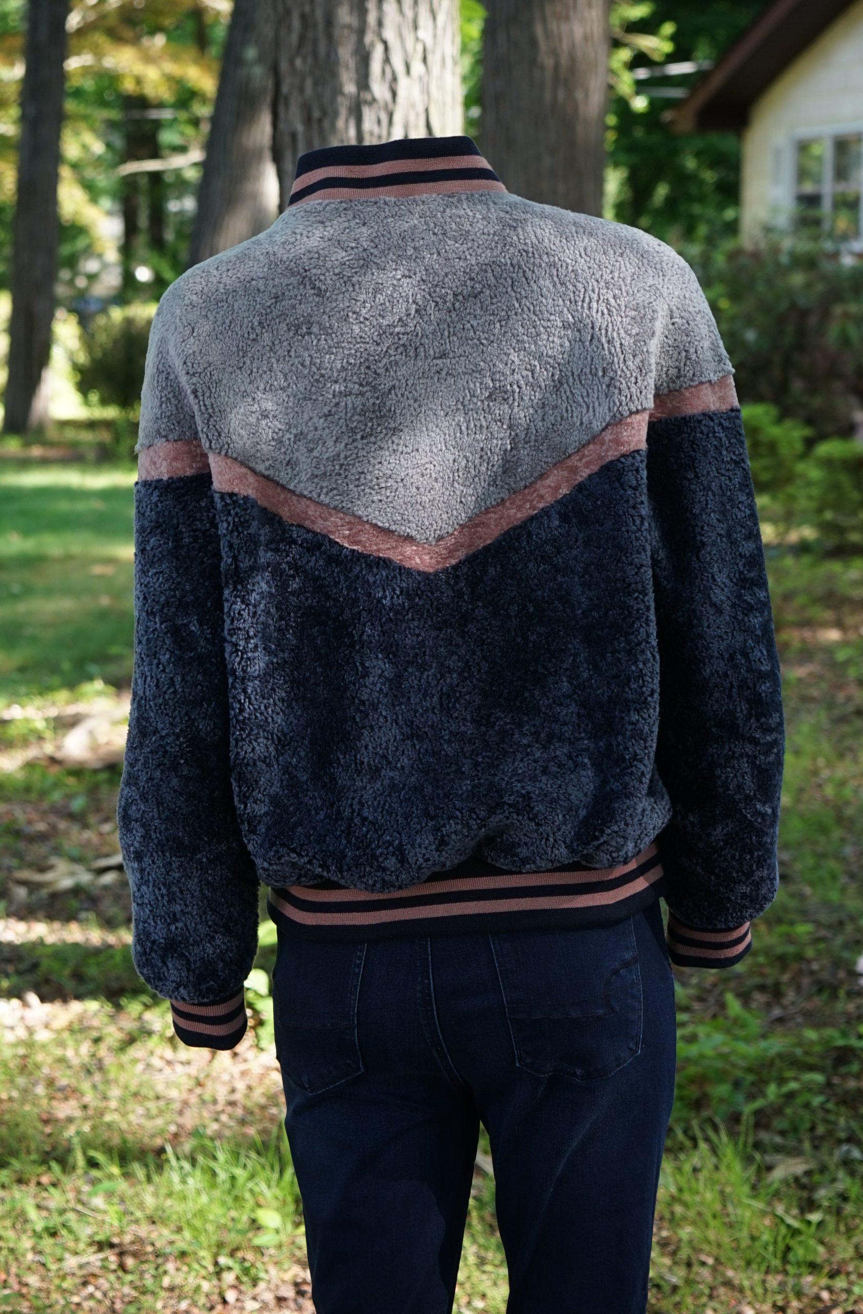 Varsity Shearling Jacket