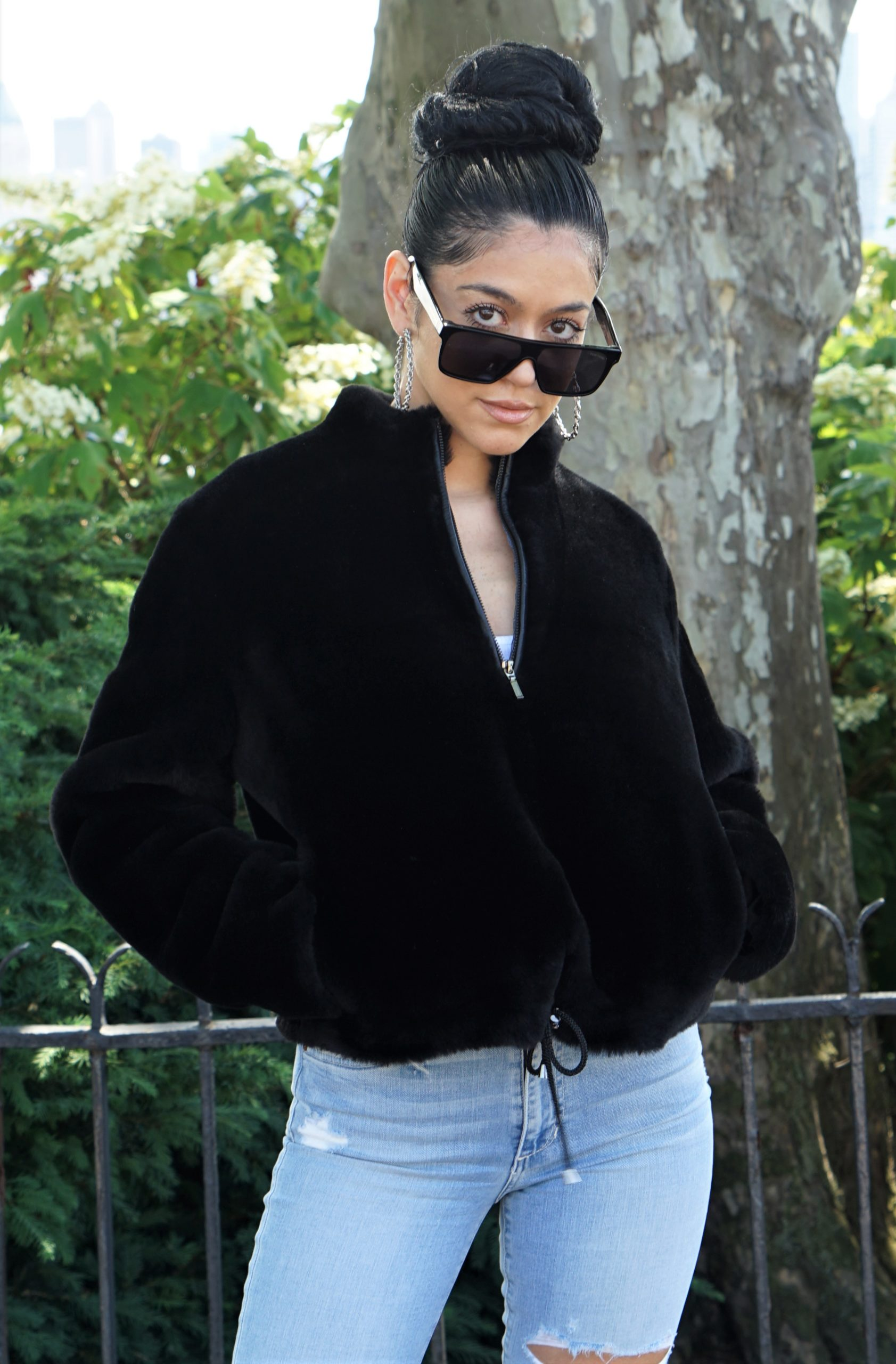 Woman's Designer Shearling Jacket