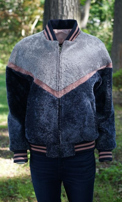 Varsity Shearling Jacket