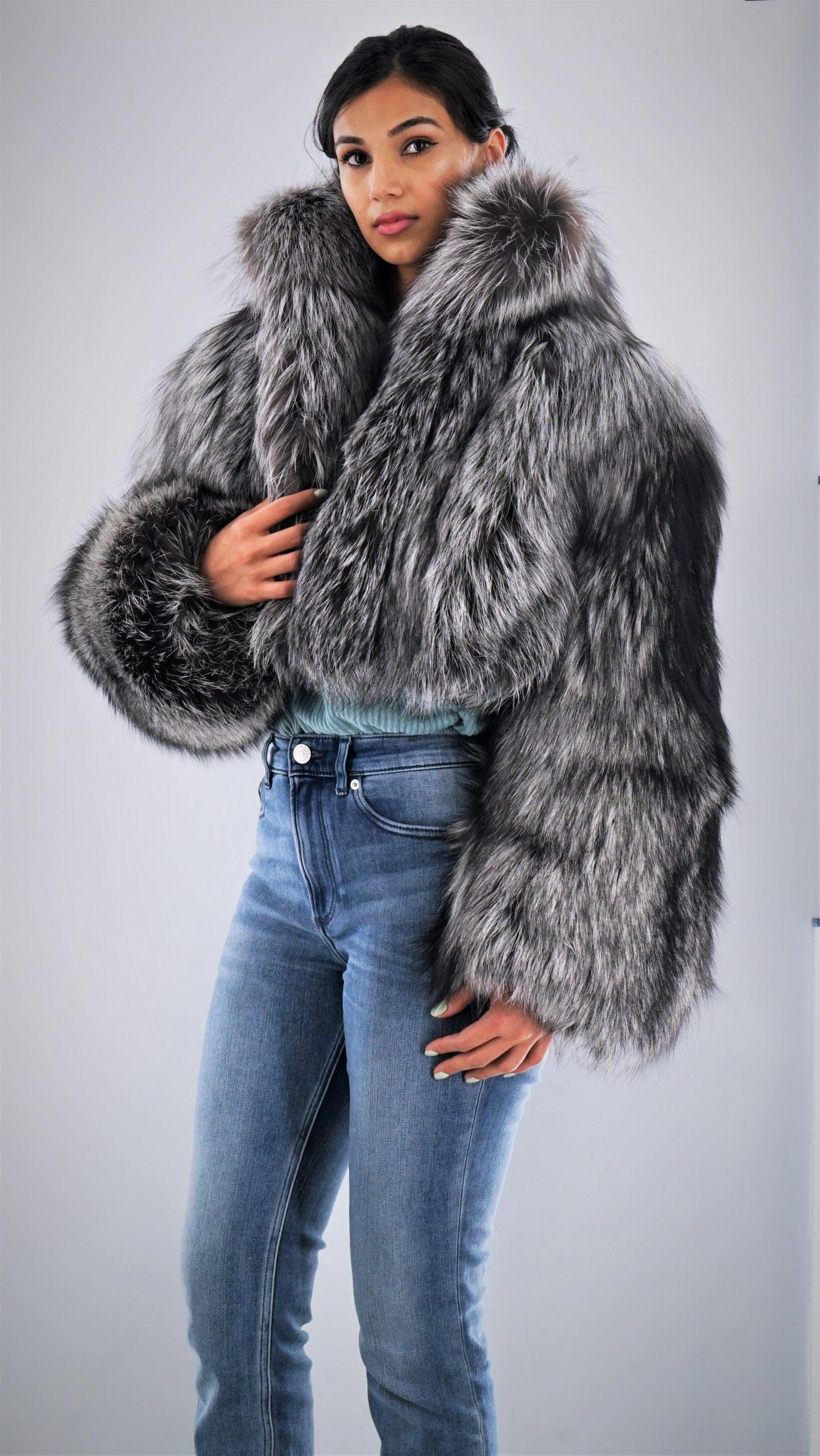 Silver Fox Bolero Jacket