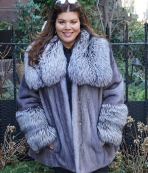 Plus Size fur Coats jackets