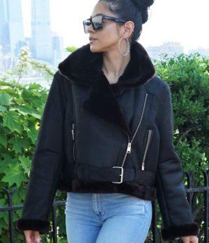 Designer Shearling Coats jackets