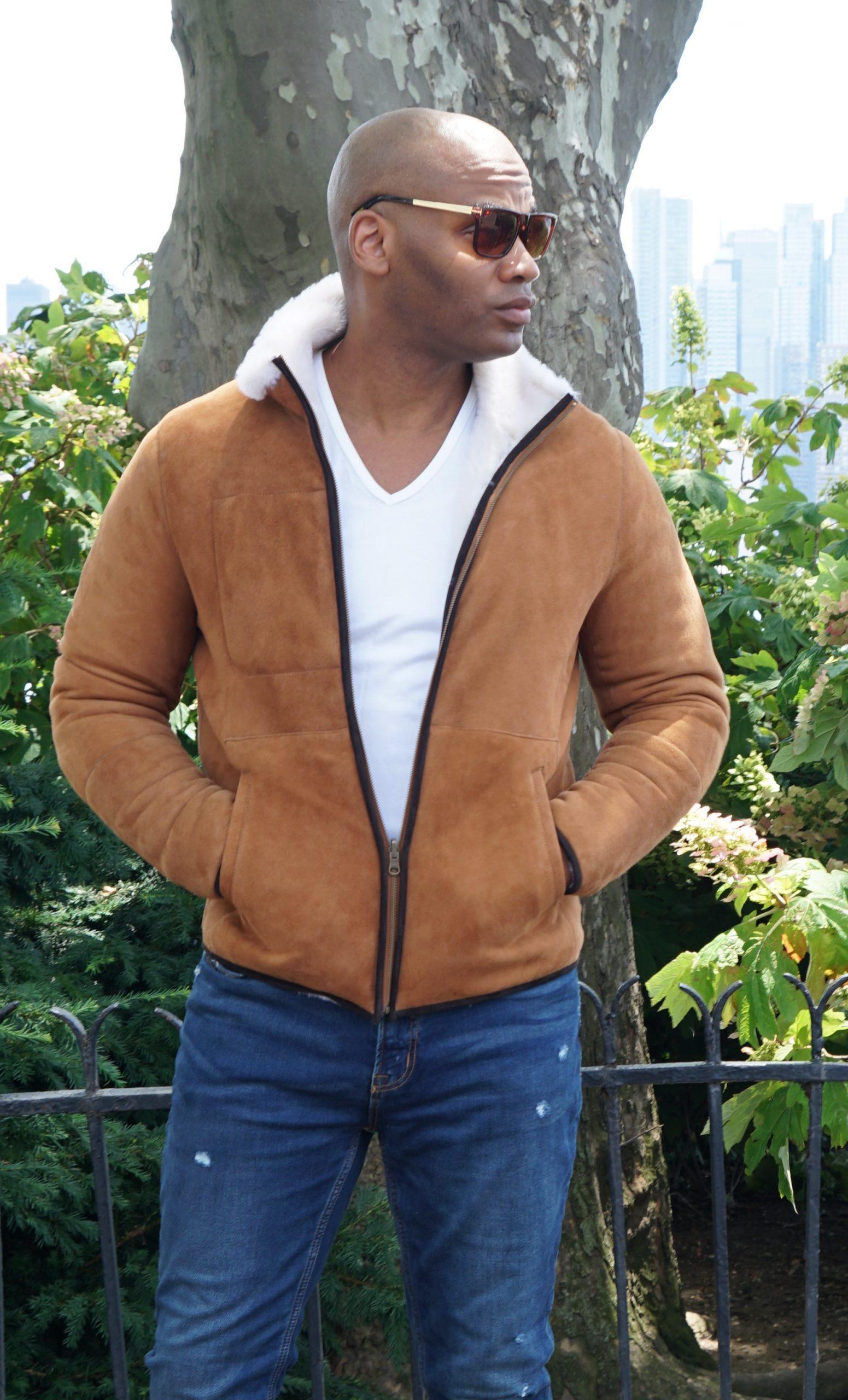 Shearling Jacket for Men