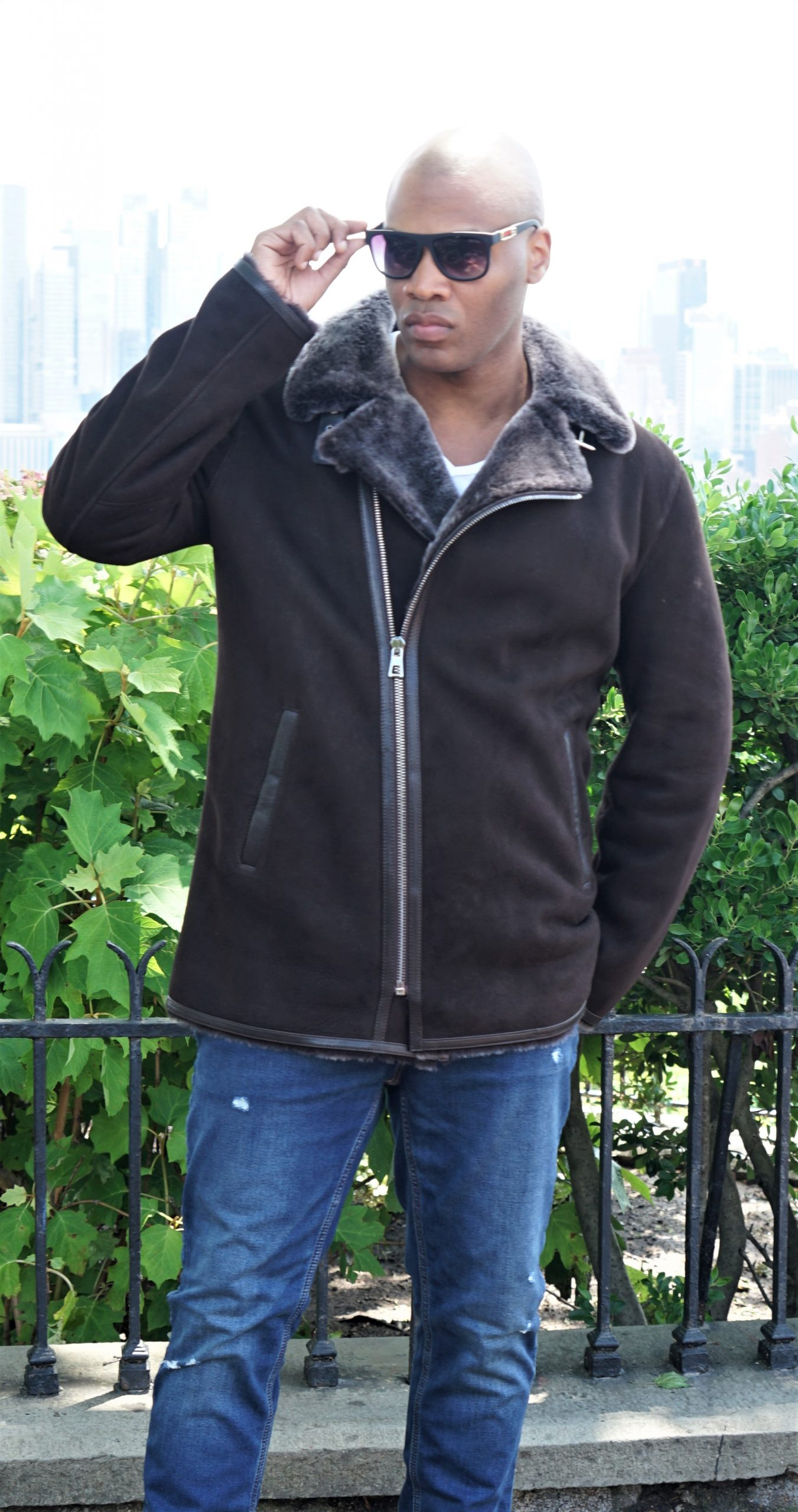 Men's Shearling jacket