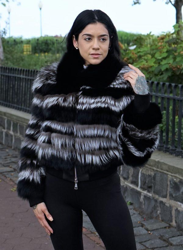 Black Fox Jacket Silver Fox Inserts