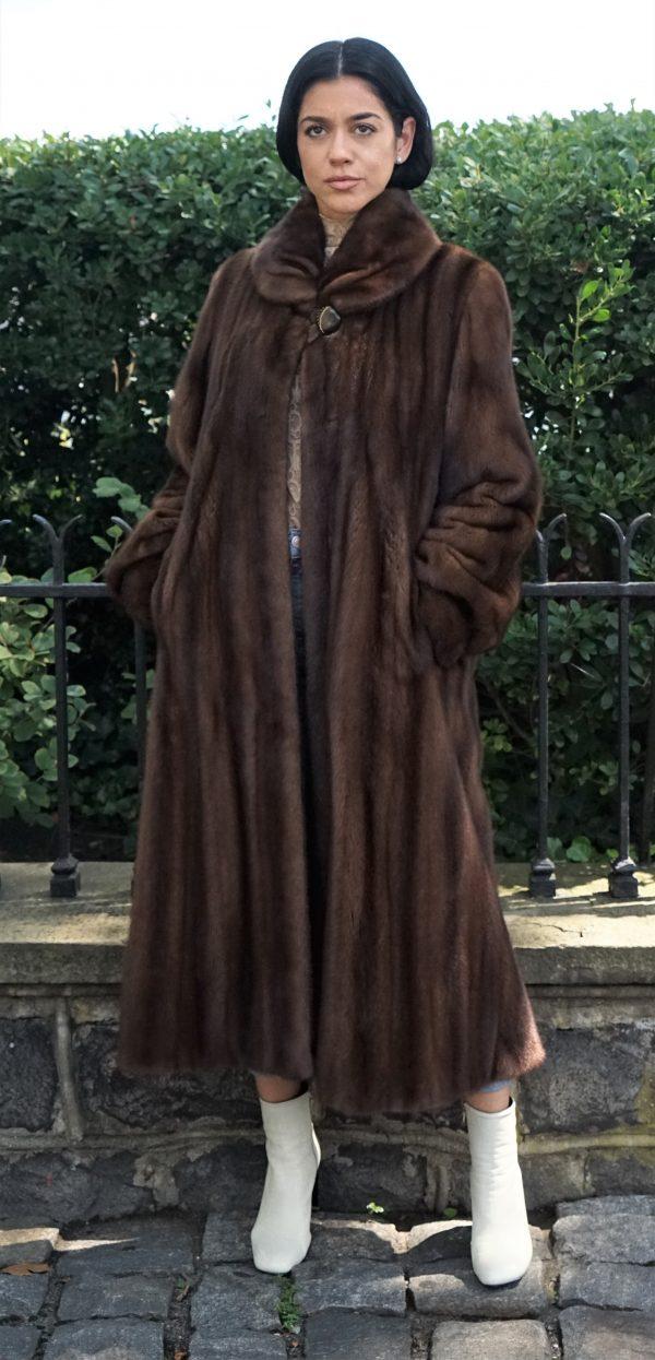 Classic Demi Mink Coat