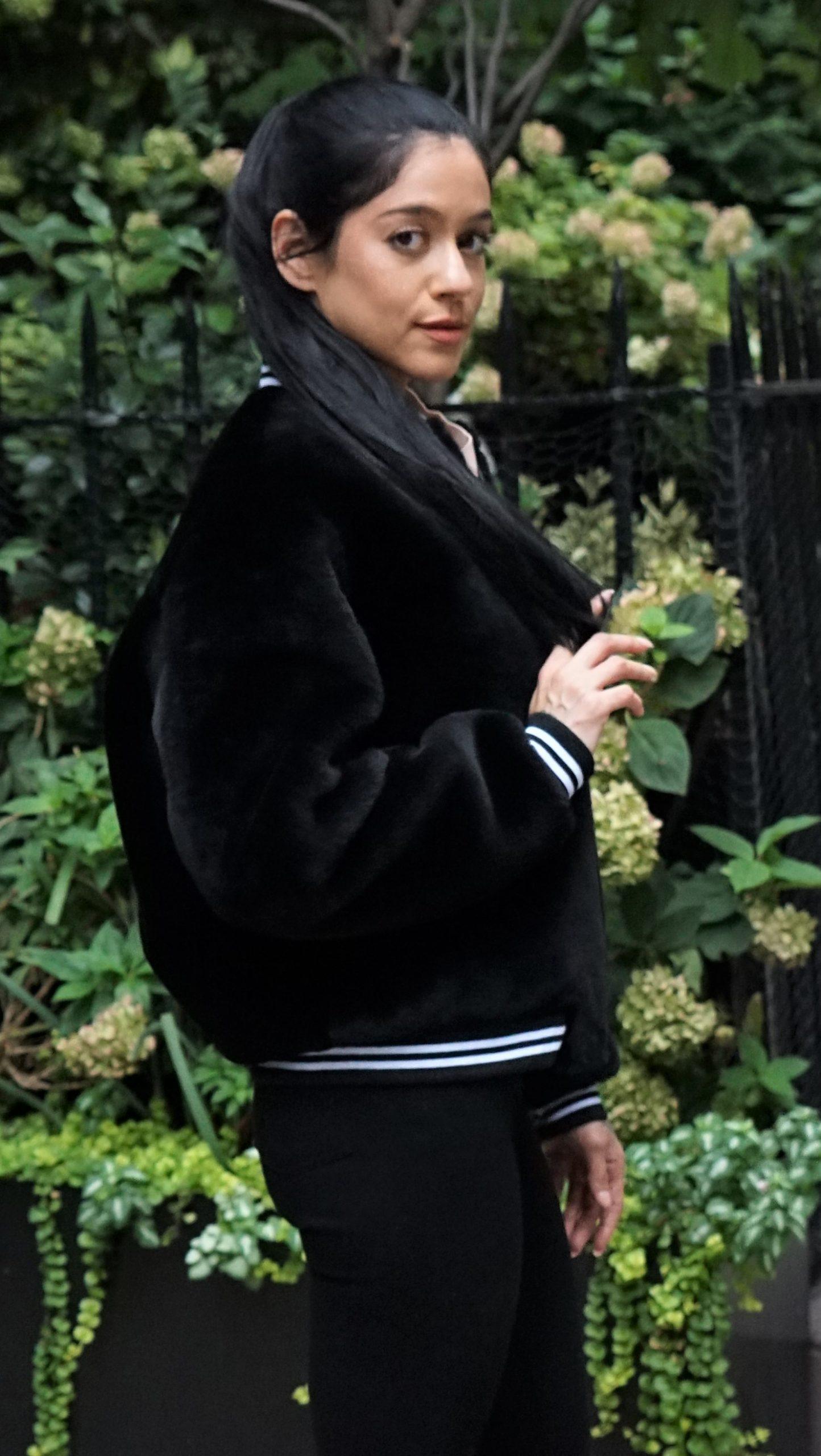 Shearling Varsity Jacket