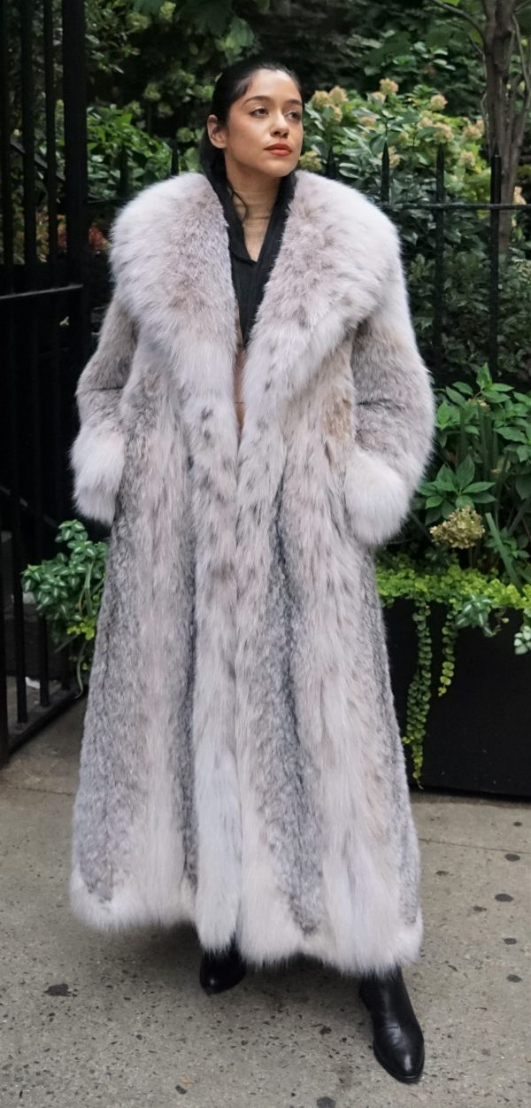 Canadian Lynx Coat as Seen in Hustlers Movie JLO