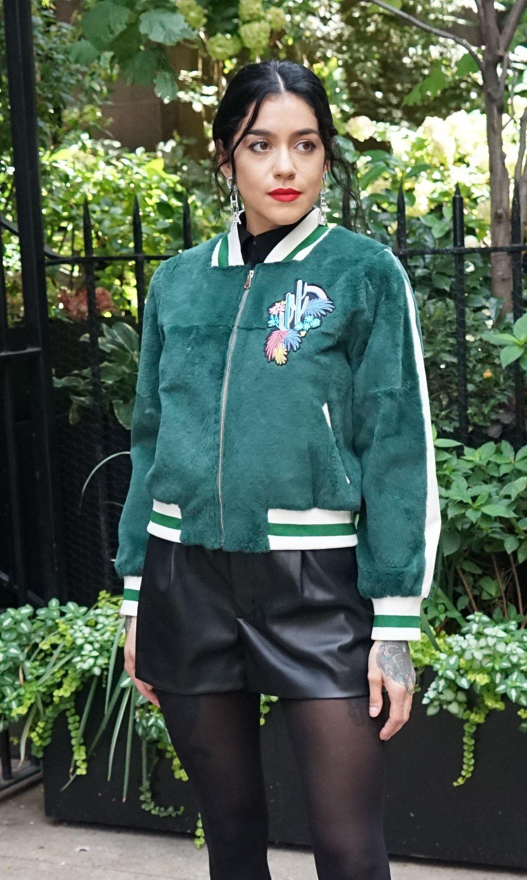 Green Rex Rabbit Jacket